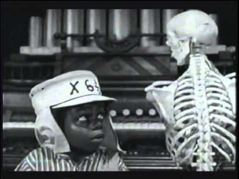 BUCKWHEAT IN THE SPOOK HOUSE