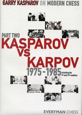Garry kasparov on #modern #chess: pt. 2: kasparov vs #karpov 1975-1985: v. 2 (har,  View more on the LINK: http://www.zeppy.io/product/gb/2/361872626376/