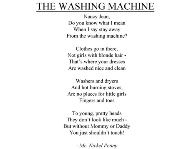 machine poems