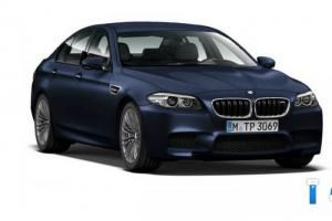 The facelifted BMW M5 has leaked