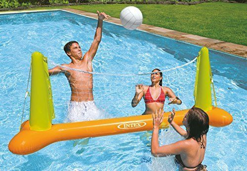 Pool Volleyball Net Inflatable Game Water Sport Team Kits Children Summer Fun