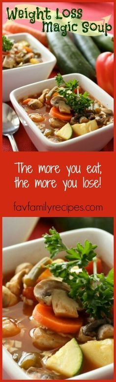 If you are looking to drop a few pounds, try our Weight Loss Magic Soup! This low-calorie, high-fiber recipe is healthy, flavorful, and fills you up! via…