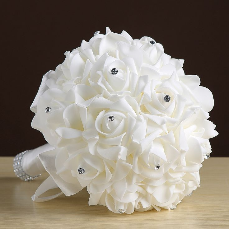Wedding Bouquet 6 Colors Available Bride Bridesmaid Artificial Hands Holding Flowers For Party Decoration  Bridal