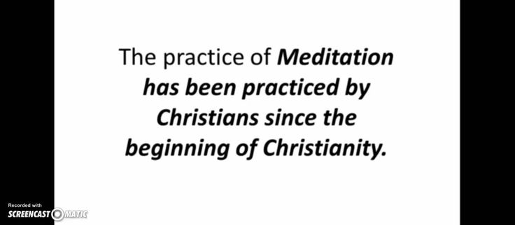 Christian Meditation Review   Christian Meditation is Works or Not?