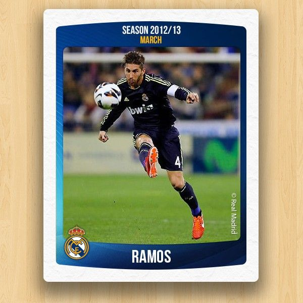 Real Madrid Collections - Ramos