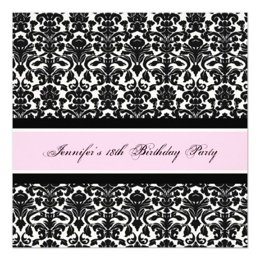 414 best 18th Birthday Party Invitations images – Invitations 18th Birthday