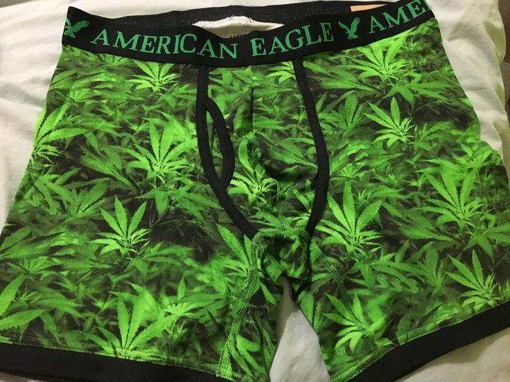 American Eagle Cannabis Boxers M | eBay