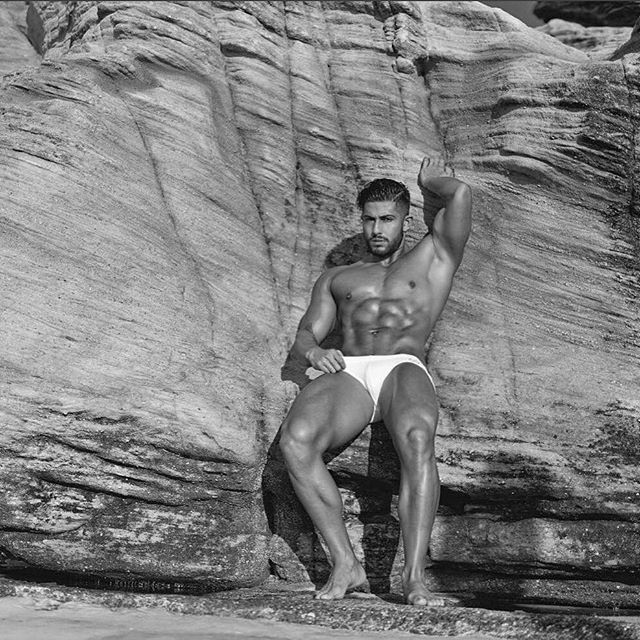 The sand may brush off, the salt washed clean, the tans may fade but the memories will last forever! <3 with @andruuu_7 in the V10 Icon  Shot by @shotsbygun #2EROS #malemodel #beachbody #summerbody #fitguys #summer #mensswimwear #beachwear #swimwear #australia