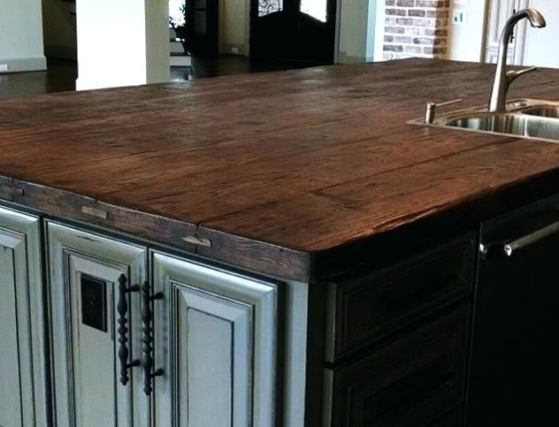 32 Awesome Wood Top Kitchen Island Ideas Outdoor Kitchen