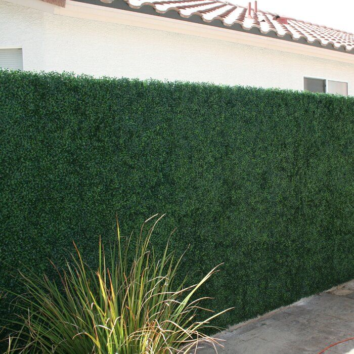 2 Ft H X 2 Ft W Fence Panel Artificial Hedges Artificial Boxwood Boxwood Hedge