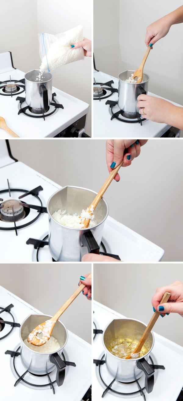 DIY | Poured Mason Jar Candle
