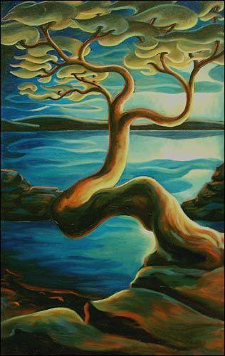 Arbutus Tree by Dana Irving