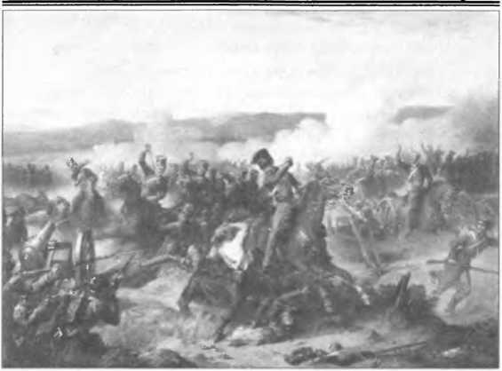 Долина Смерти под Балаклавой. Британская гравюра точно передает начало атаки Легкой бригады. Сегодня там все по-другому — вся долина засажена...