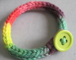 I-cord friendship bracelets.