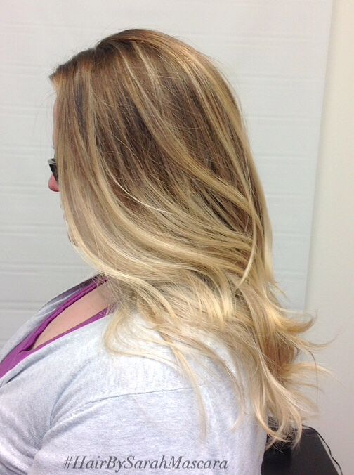 Sunkissed Bright Blonde Highlights Around The Face Hair