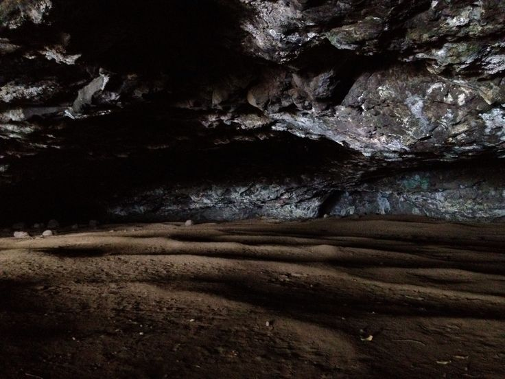 Manini Holo Dry Cave in Kauai island. This cave was dug by Menehune(Hawaiian legendary small elves), and they shut evil spirits in this cave.