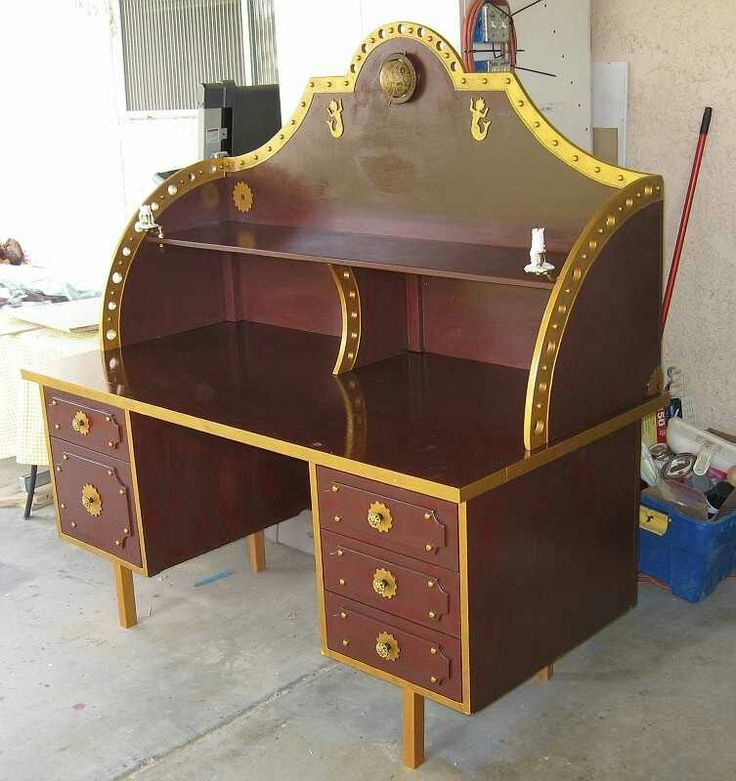 70 best steampunk furniture decor images on pinterest for Steampunk bed