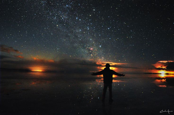 Salar de Uyuni, Bolivia  This is *definitely* on the bucket list as well for experiences I want in life. Incredible.