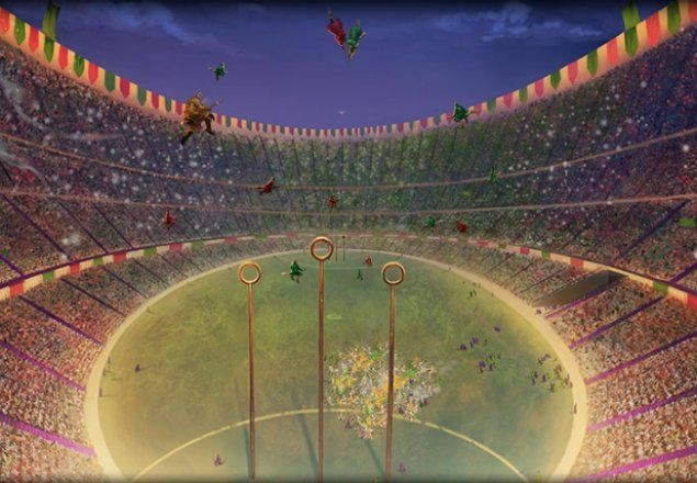 You Are Lucky Enough To Get Tickets To The Quidditch World Cup The Crowd Is Going Wild As Your Two Favorite Tea In 2020 Harry Potter Harry Potter Experience Quidditch