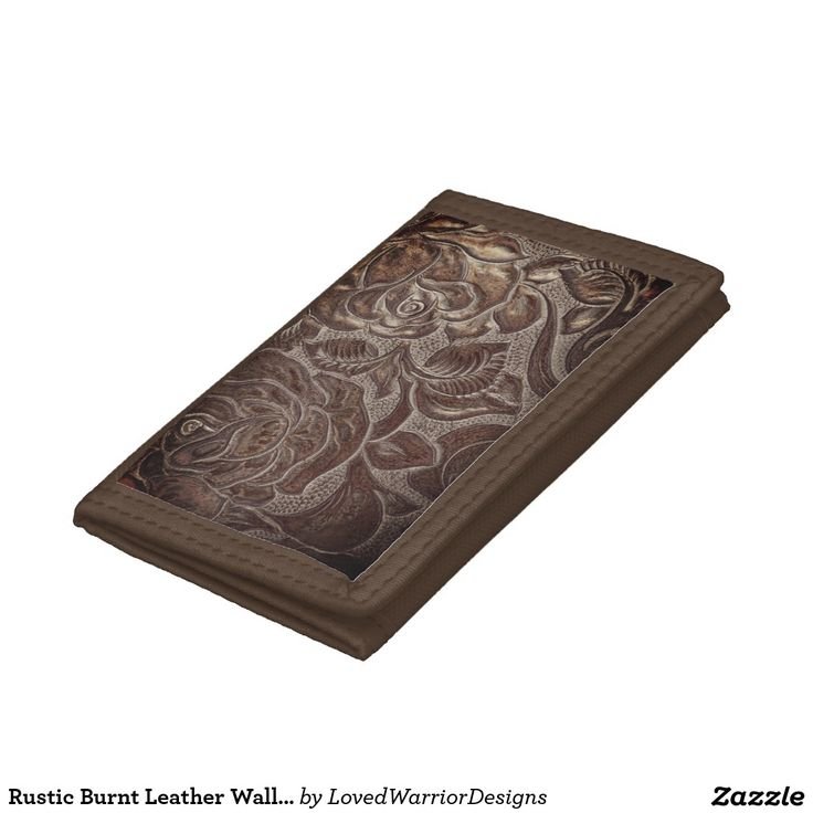 Rustic Burnt Leather Wallet