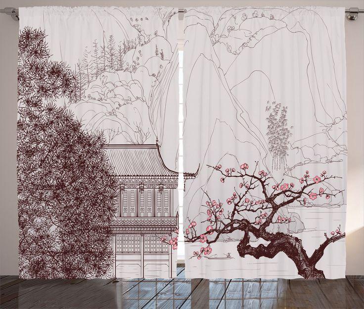 Die besten 25+ Asian curtain rods Ideen auf Pinterest Decke