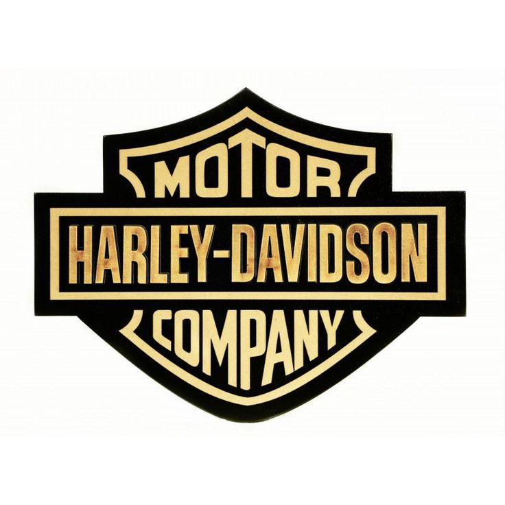 HARLEY DAVIDSON – PLACA DECORATIVA MDF