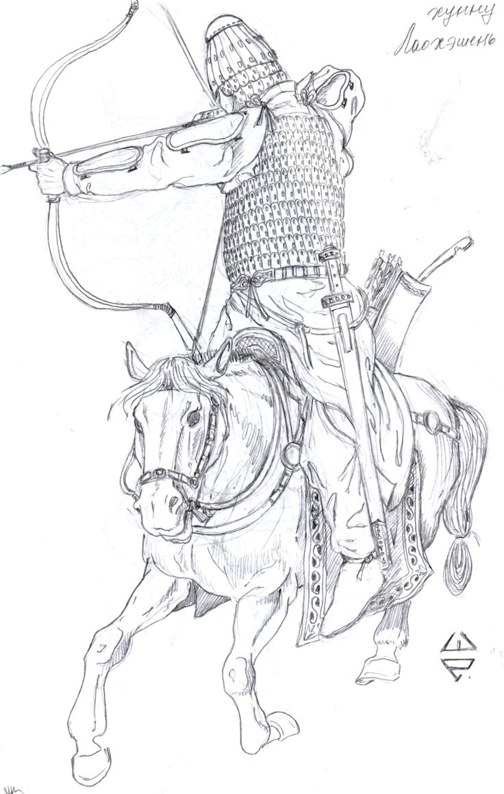 how to draw ancient china