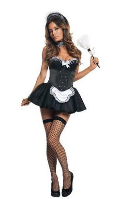 French Maid Costumes for Halloween