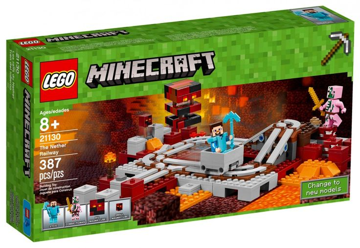 LEGO Minecraft 21130 : Les rails du Nether