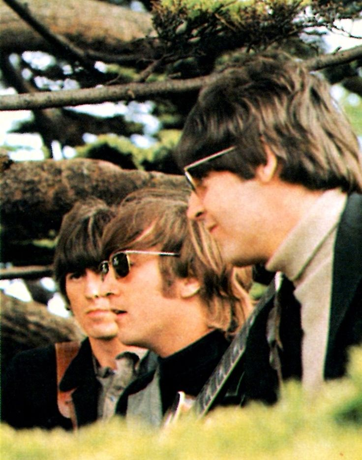 "doraemonmon: "" The Beatles - George, John and Paul """