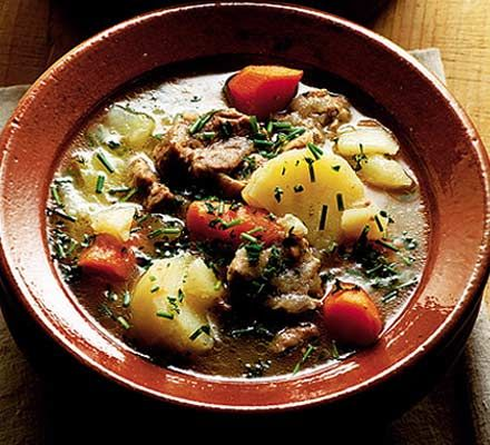 """""""Celebrate St Patrick's Day with Richard Corrigan's Irish stew - it's big on flavor, even bigger if you make it ahead and quite literally, let it stew..."""" #Lamb #recipe"""