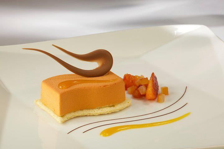 Fine Dining Plated Desserts | Contemporary Cold Plated Dessert