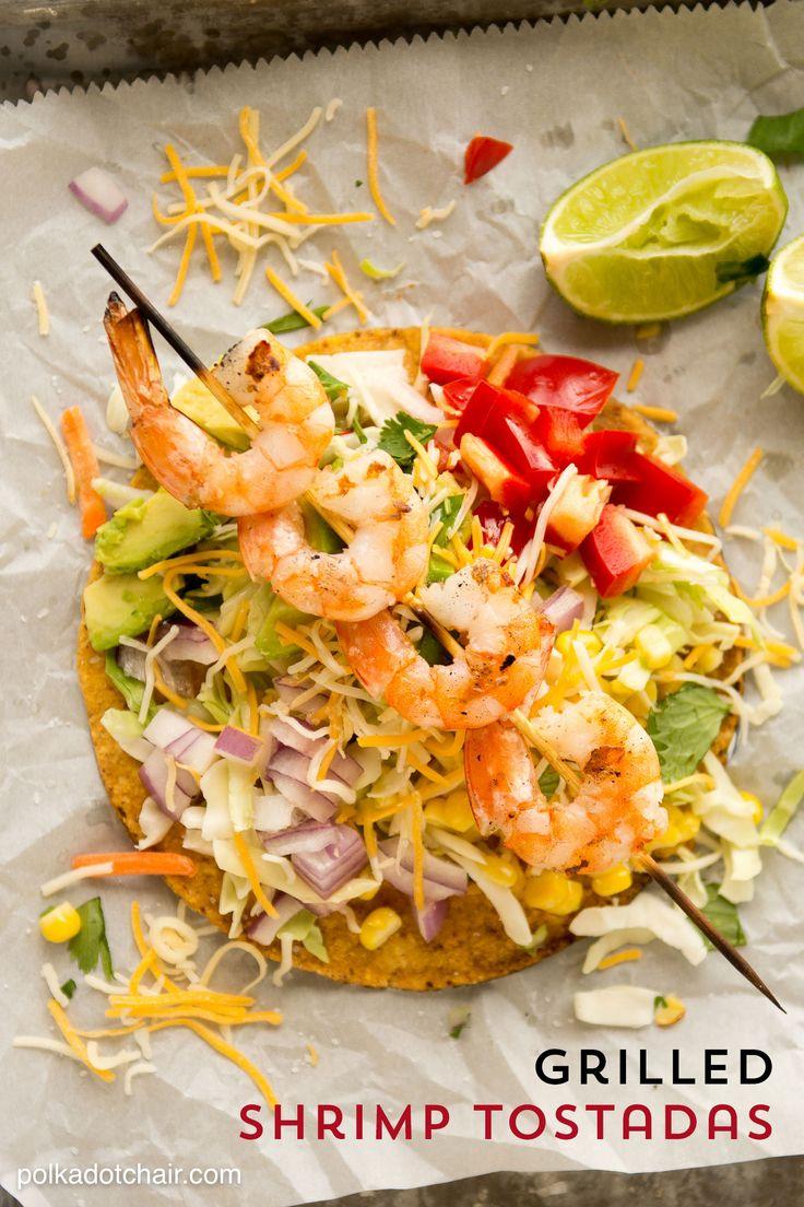 ... Shrimp Tostadas on Pinterest | Tostadas, Prawn and Grilled Shrimp