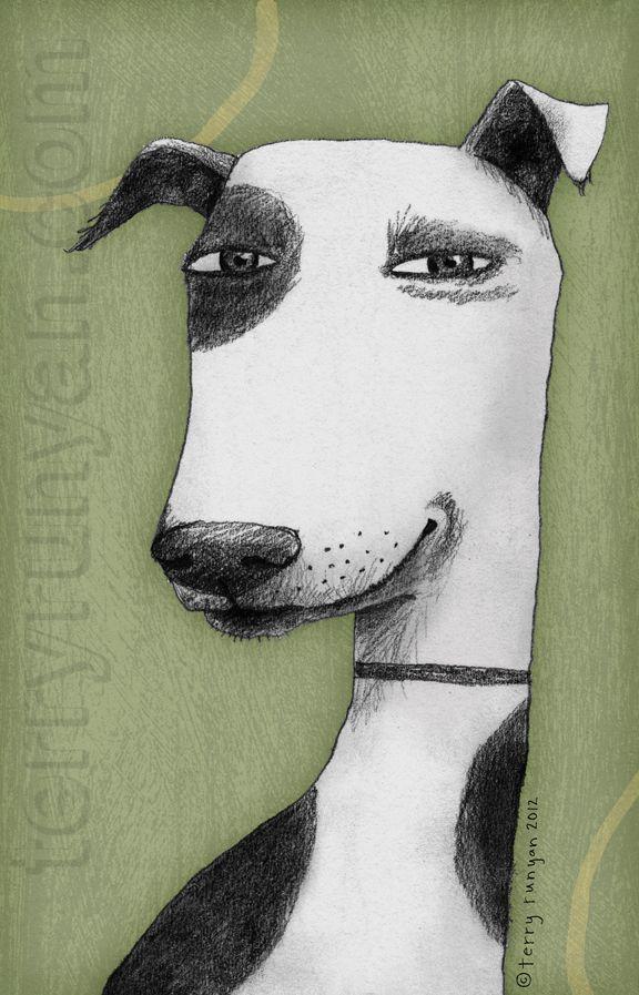 art by terry runyan 2012 . http://terryrunyan.blogspot.com/2012/03/grin.html