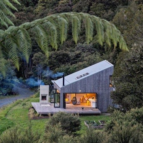 Back Country House. By LTD Architectural. Located in #NewZealand - Architecture and Home Decor - Bedroom - Bathroom - Kitchen And Living Room Interior Design Decorating Ideas - #architecture #design #interiordesign #homedesign #architect #architectural #