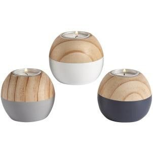 Halmstad Ball Tealight Holders - Set of 3 - Amour Decor