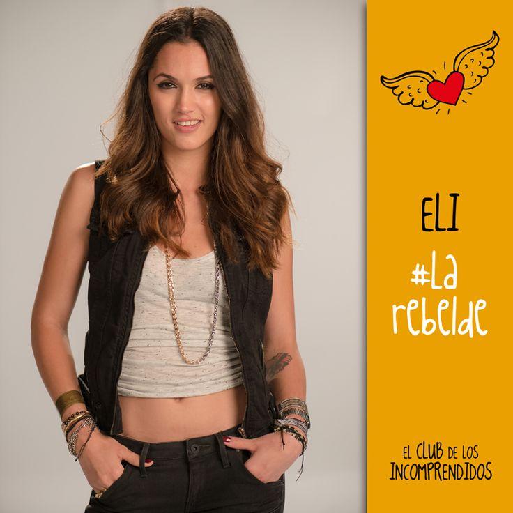 El club de los Incomprendidos#Eli#Rebelde#Alicia