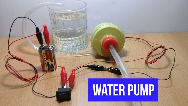 How to make Electric Water Pump at home with DC Motor - DIY Homemade Mini Water Pump