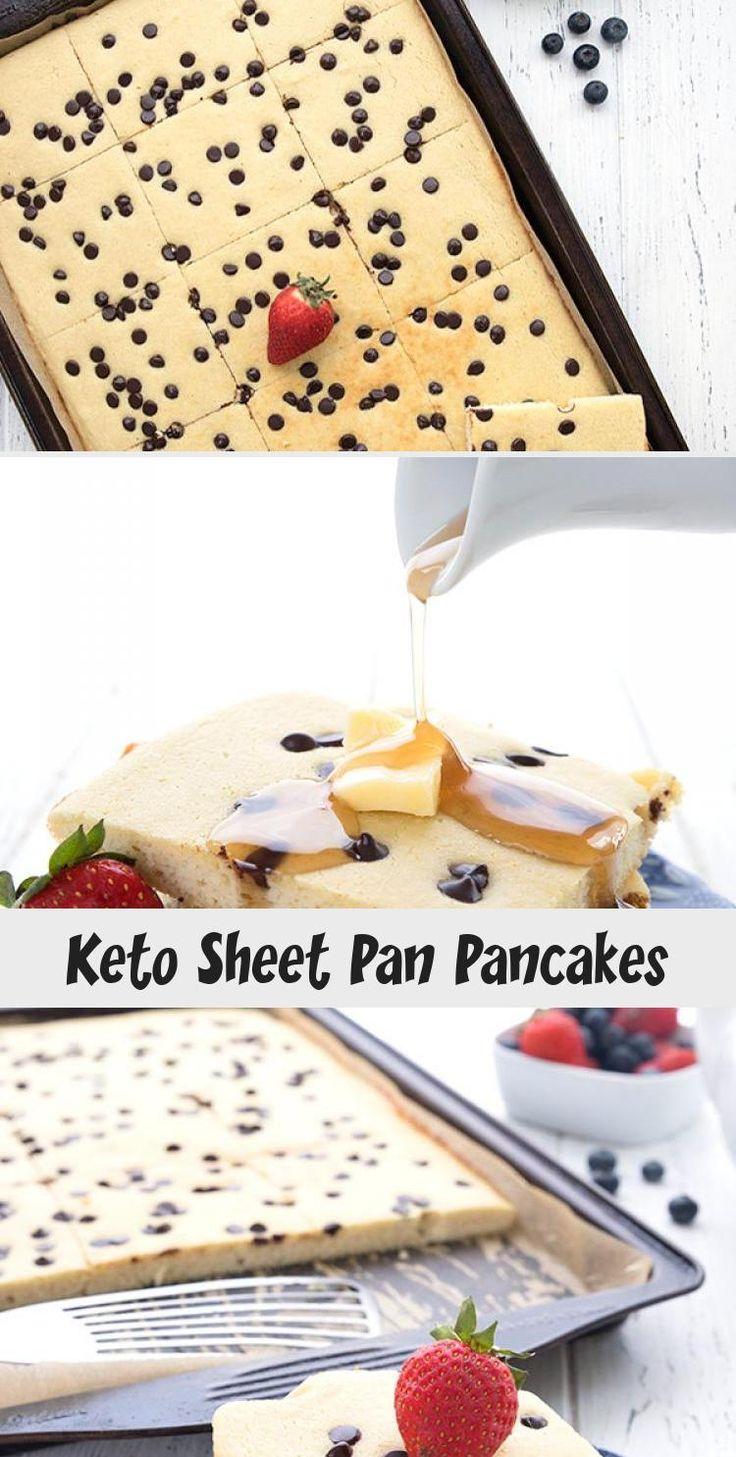 Keto sheet pan pancakes cake in 2020 sugar free