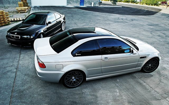 BMW E46 M3: She's a thing of beauty.
