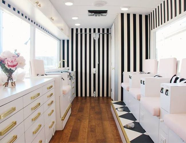 Nail Salon Ideas Design washington dc interior design by pierre jean baptiste interiors 21 nail lounge complete Las Best Nail Salons Inspired By This