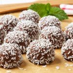 Trufas de Chocolate y Coco