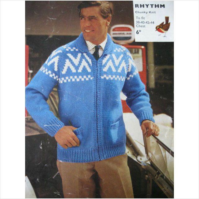 59 best mens Vintage knitting patterns images on Pinterest | Knit ...