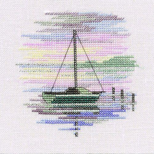 Derwentwater Designs SAILING BOAT Minuet Cross Stitch Kit by Derwentwater, http://www.amazon.co.uk/dp/B0062U431O/ref=cm_sw_r_pi_dp_ZX9btb0EFR8J1