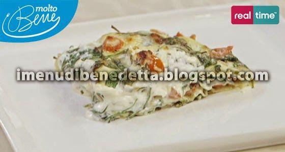 Lasagne alla Crudaiola di Benedetta Parodi