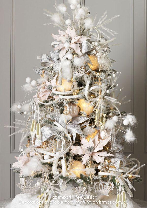 Raz imports 2015 christmas theme enchanted holiday - Decoracion de interiores navidad ...