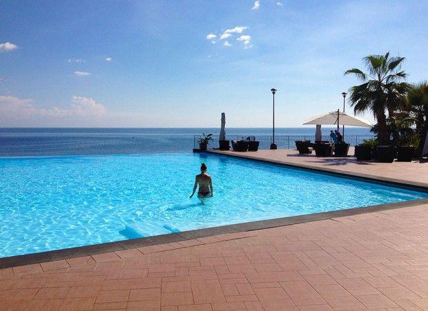 Sizilien,  Hotel Santa Tecla Palace: Da waren wir im September und von dem Hotel, dem guten Essen und der Landschaft sehr begeistert!!