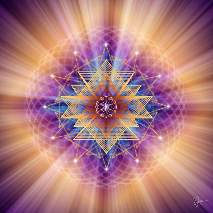 Sacred Geometry 157 by Endre Balogh