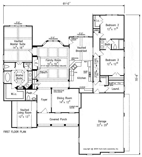 Maplewood Home Plans And House Plans By Frank Betz Associates House Plans Pinterest See