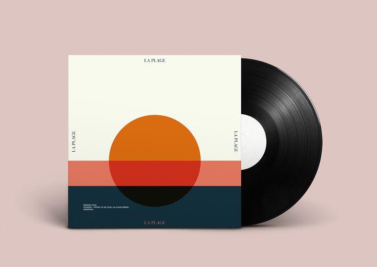 La Plage // Album cover on Behance